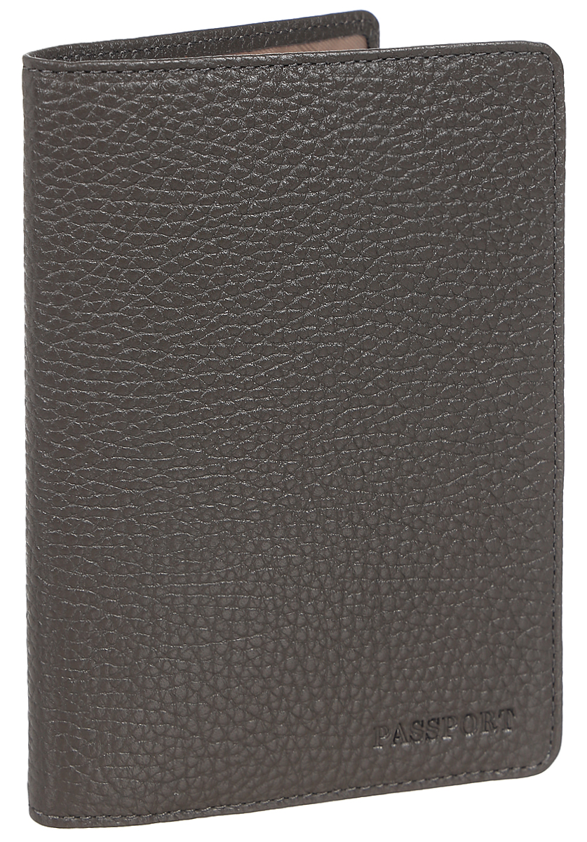 Обложка для паспорта женская Fabula Solo, цвет: коричневый. O.87.RKA52_108Обложка для паспорта из коллекции «Solo» выполнена из натуральной зернистой кожи. На внутреннем развороте два кармана из плотного прозрачного пластика.