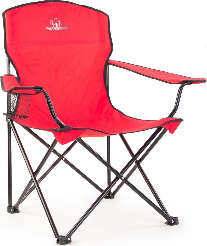 Кресло складное Larsen Camp, цвет: красный, 52 х 52 х 91см. FCL - 4147R
