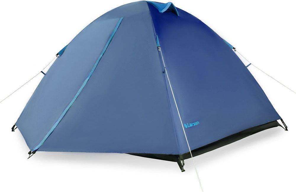 Палатка Larsen  A2 , 2-х местная, цвет: синий, голубой. N/S (613) - Палатки и тенты