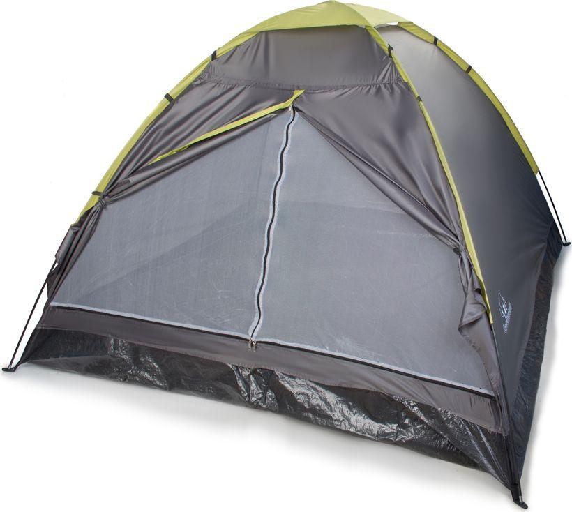 Палатка Greenwood Summer 3, 3-х местная, цвет: зеленый. (184)261354Материал тента: полиэстер 75D/190T Материал пола: армированный полиэтилен 140 г/кв м Дуги: фиберглас, 7 мм Водонепроницаемость тента: 2000 мм Размеры палатки: 210 х 210 х 130 см Вес: 2,05 кг Антимоскитная сетка : + Проклеенные швы: + Вентиляционные отверстия: +