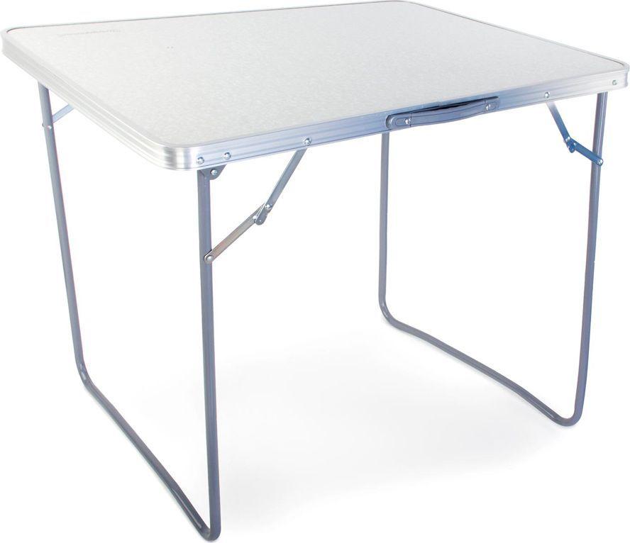Стол складной Greenwood TA-02 Ind, цвет: белый, 80 х 60 х 70 см67742Размер: 80 х 60 х 70 см Материал ножек: сталь Диаметр ножек: 16 мм Вес: 3,2 кг Материал столешницы: МДФ Максимальная нагрузка на стол: 30 кг