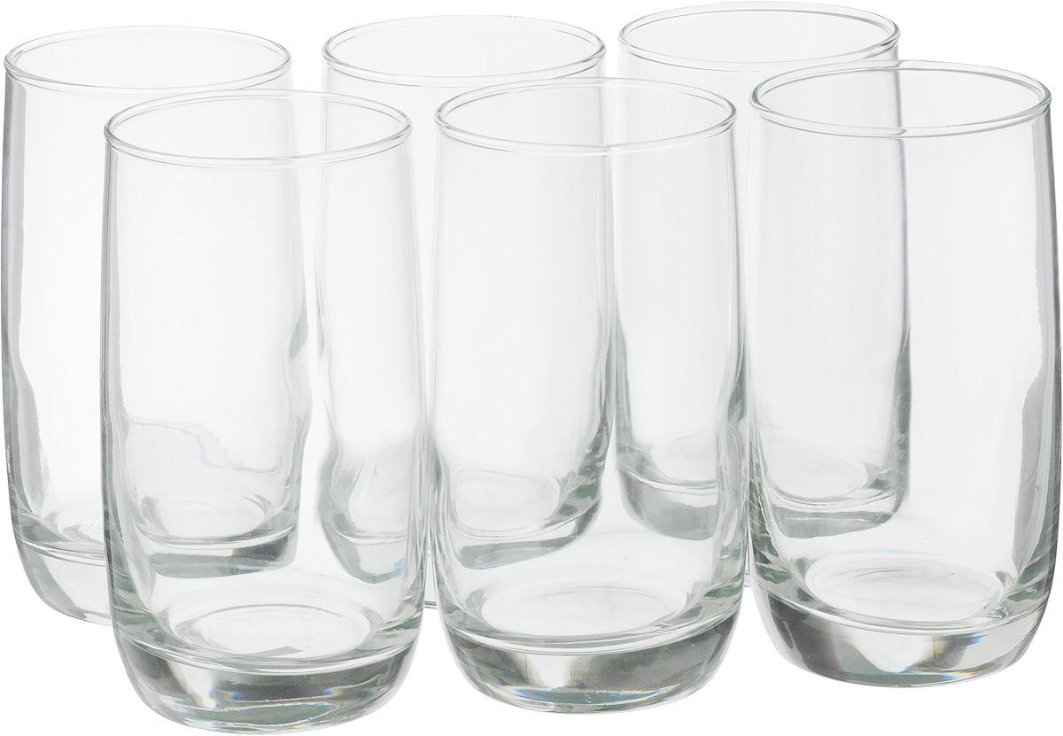Набор стаканов Luminarc Французский ресторанчик, 330 мл, 6 шт. C5107VT-1520(SR)Набор Luminarc Французский ресторанчик состоит из 6 высоких стаканов, выполненных из высококачественного стекла. Изделия подходят для сока, воды, лимонада и других напитков. Такой набор станет прекрасным дополнением сервировки стола, подойдет для ежедневного использования и для торжественных случаев. Можно мыть в посудомоечной машине.Объем стакана: 330 мл.Диаметр стакана: 6,5 см.Высота стакана: 12,5 см.