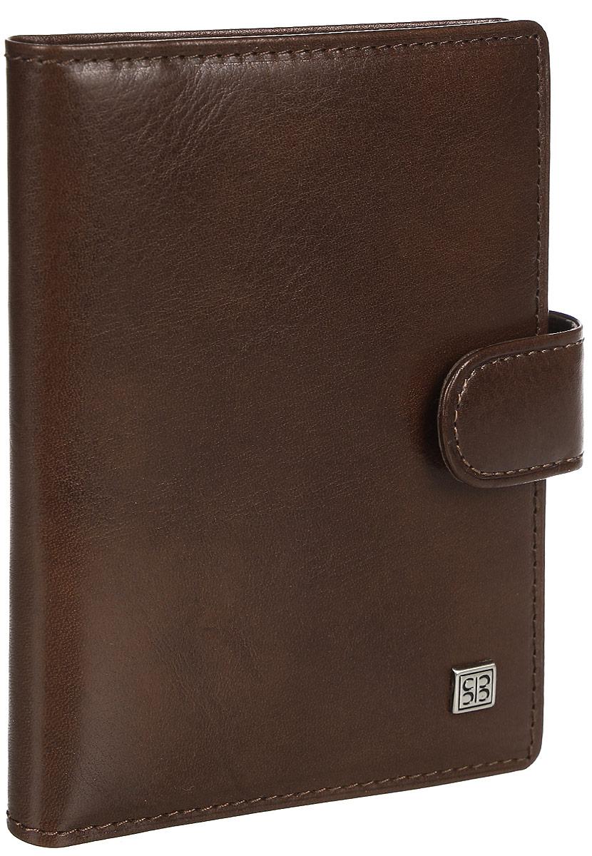Обложка для автодокументов Sergio Belotti, цвет: коричневый. 24652465 oro brown