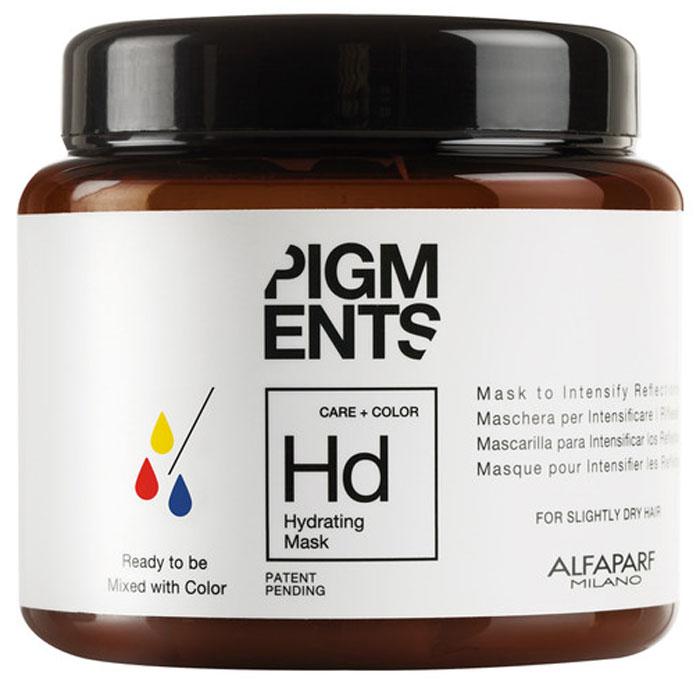 Alfaparf Pigments Hydrating Mask Маска увлажняющая для слегка сухих волос, 200 млFS-54102Маска предназначена для увлажнения нормальных и слегка сухих волос. Специально разработанная формула поддерживает цвет и гарантирует стабильность пигмента в смеси. Входящие в состав активные ингредиенты обладают запечатывающим действием, благодаря чему создается защитная сетка, которая обволакивает волос, помогая сохранить правильный баланс влаги. Волосы мгновенно становятся блестящими, легкими и шелковистыми.Объем: 200 мл