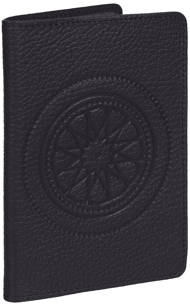 Обложка для паспорта женская Fabula Talisman, цвет: фиолетовый. O.65.SNKW064-000180Обложка для паспорта из коллекции «Talisman» выполнена из натуральной кожи.На внутреннем развороте 2 кармана из прозрачного пластика, шелковистая подкладка.