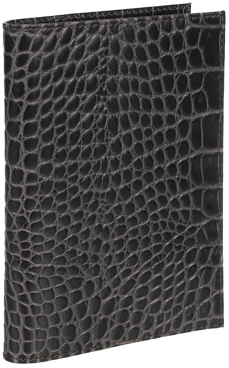 Обложка для паспорта Fabula Croco Nile, цвет: млечный лес. O.1/1.KRKW064-000255Стильная обложка для паспорта Fabula Croco Nile выполнена из натуральной кожи. Модель оформлена фактурным тиснением под кожу крокодила и дополнена горизонтальным тиснением в виде надписи Passport. На внутреннем развороте два кармана из прозрачного пластика.Изделие упаковано в фирменную коробку. Модная обложка для паспорта не только поможет сохранить внешний вид вашего документа и защитить его от повреждений, но и станет стильным аксессуаром, который отлично впишется в ваш образ.