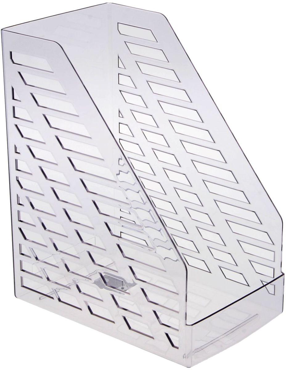 Стамм Лоток для бумаг вертикальный XXL цвет серый1083103