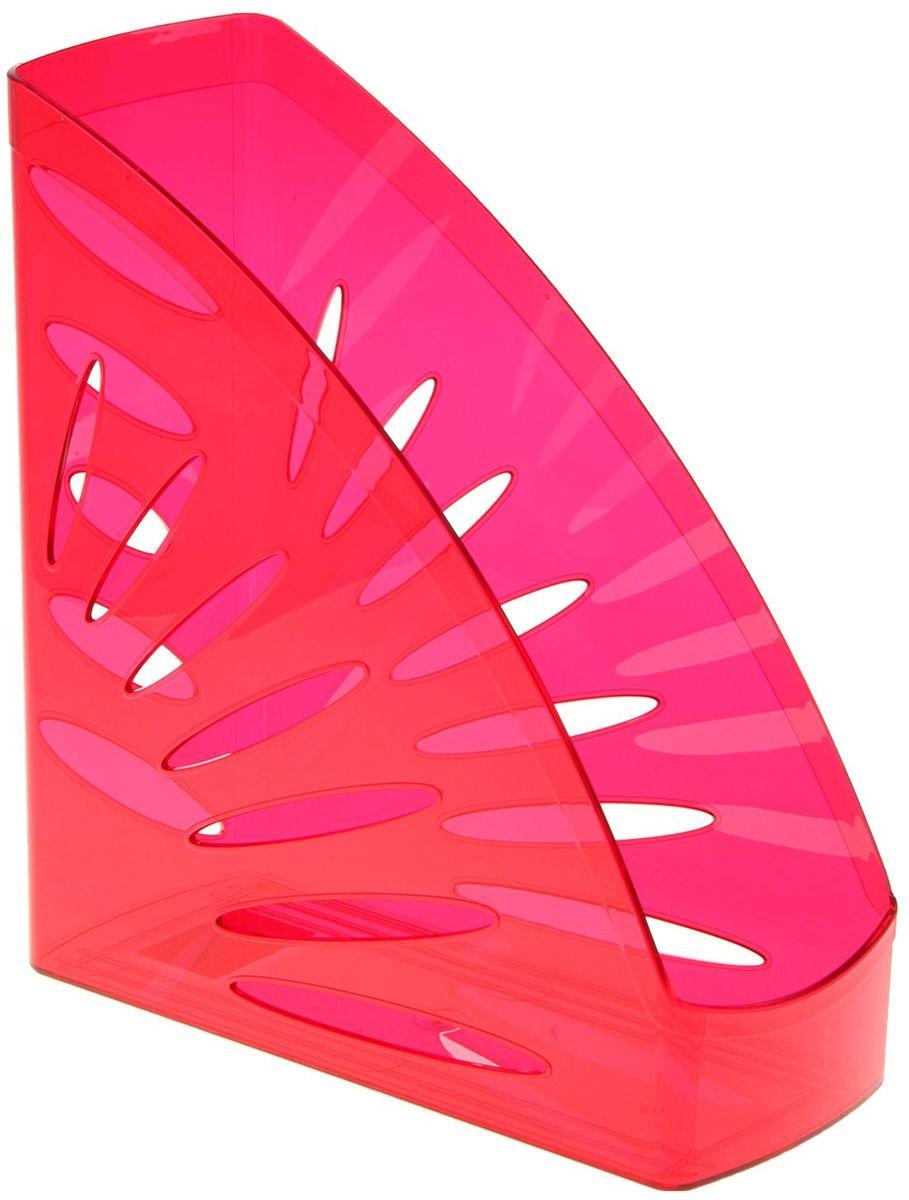 Стамм Лоток для бумаг вертикальный Тропик цвет темно-красный1088444
