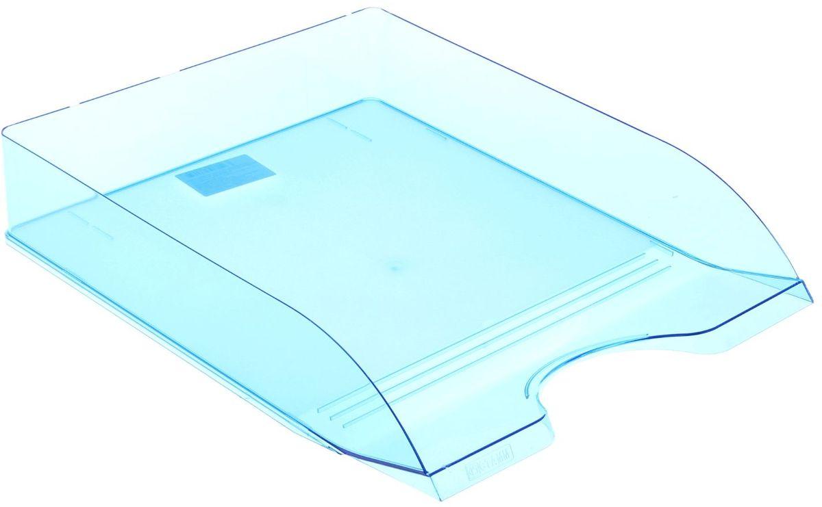 Стамм Лоток для бумаг горизонтальный Дельта цвет синий1088448