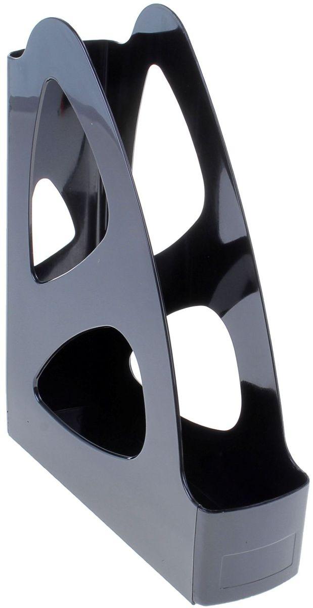 Стамм Лоток для бумаг вертикальный Парус цвет черный161591