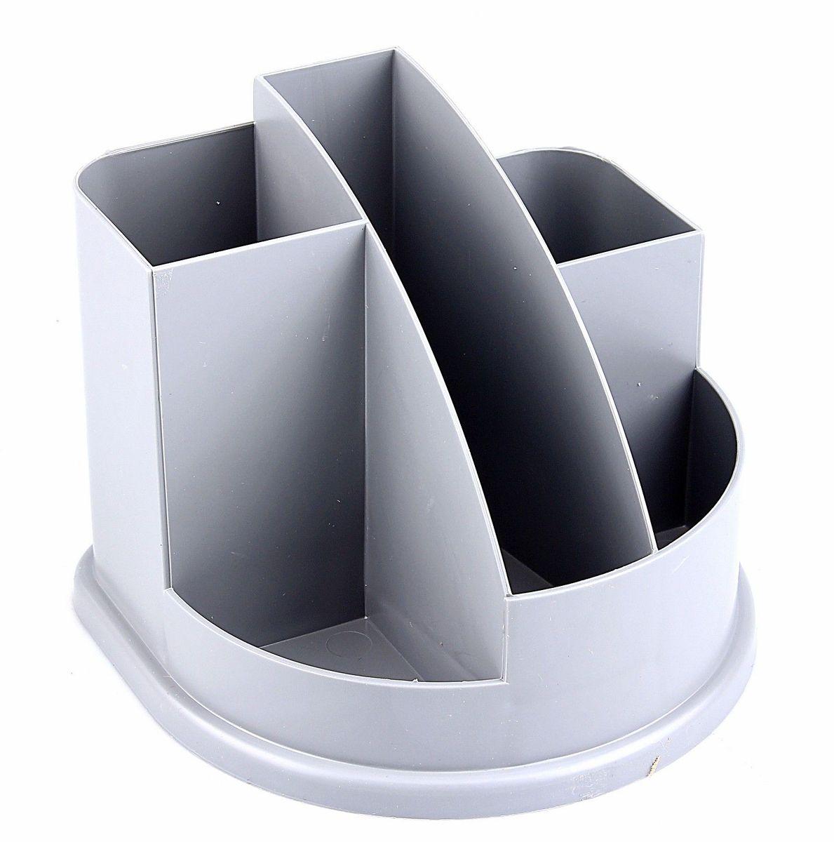 Стамм Органайзер настольный Авангард цвет серый580813Органайзер Авангард серый Эконом ОР51 – простая и практичная вещь. Он очень быстро станет незаменимым жителем на рабочем столе. Множество отделений вместят в себя все самое необходимое, сэкономив тем самым ваше время, пространство на столе и деньги.