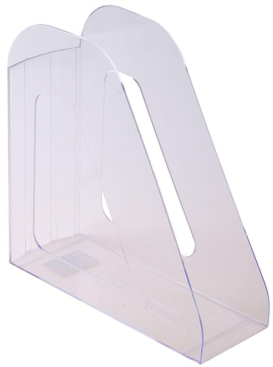 Стамм Лоток для бумаг вертикальный Фаворит цвет прозрачныйFS-00103Лоток для бумаг Стамм Фаворит выполнен в современном элегантном дизайне из высококачественного прочного пластика. Имеет одно отделение для листов формата А4. С лотком для бумаг Стамм Фаворит у вас больше не возникнут сложности с поддержанием порядка на столе!
