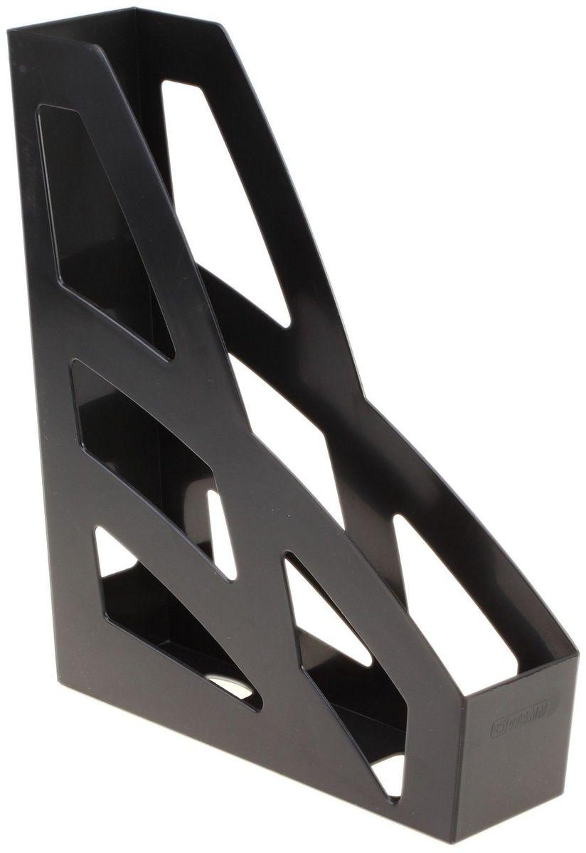 Стамм Лоток для бумаг вертикальный Лидер цвет черный609293