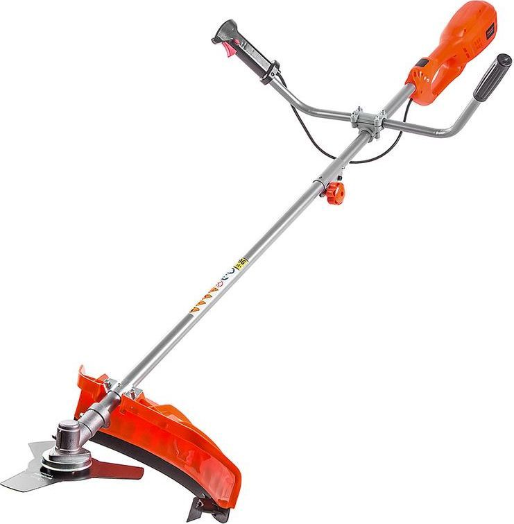 Триммер Hammer Flex ETR900LE80653Триммер Hammer Flex ETR900LE: 900Вт, верхний двигатель 11000об/мин, ширина реза 380мм + нож