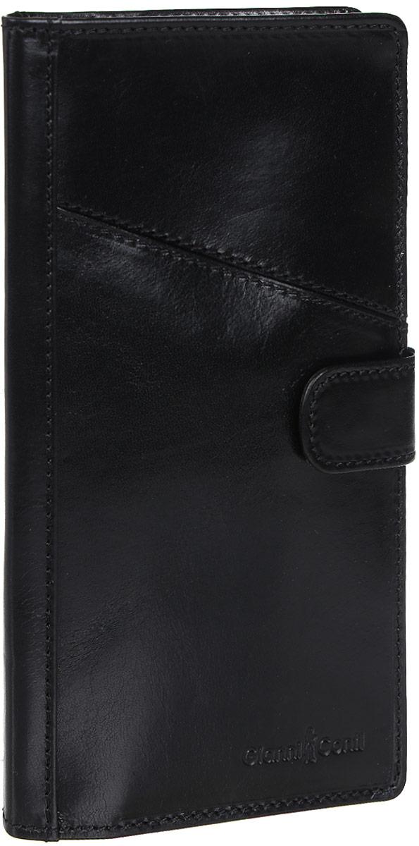 Обложка для документов Gianni Conti, цвет: черный. 907036 - Конверты для путешествий