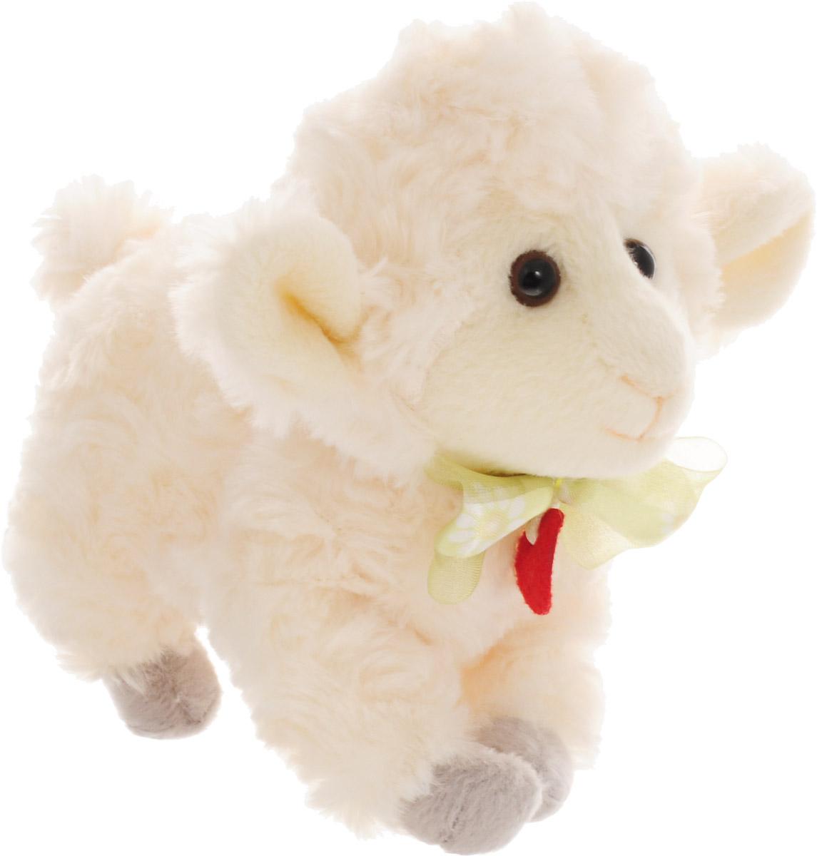 Мягкая игрушка Trudi Овечка, 15 см
