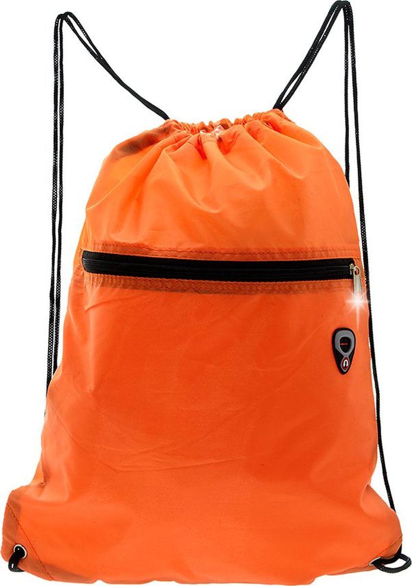 3D Bags Сумка-рюкзак для обуви72523WDСумка-рюкзак на кулиске очень удобна для сменной обуви. Яркий солнечный цвет подойдет школьникам и школьницам. Снаружи есть дополнительный карман на молнии.