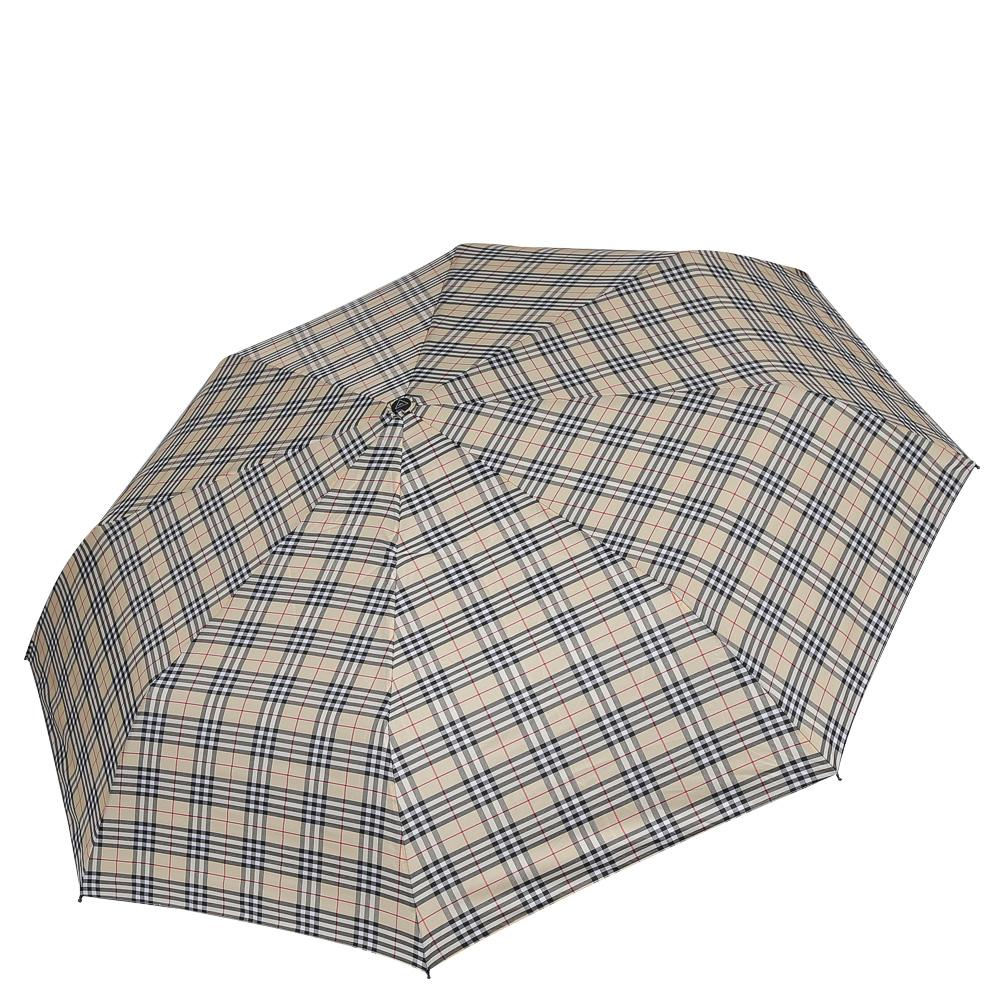 Зонт женский Fabretti, цвет: бежевый. FCH-3K50K502473_0010Классический зонт - полный автомат от итальянского бренда Fabretti. Материал купола - эпонж, обладает высокой прочностью и износостойкостью. Вода на куполе из такого материала скатывается каплями вниз, а не впитывается, на нем практически не видны следы изгибов. Эргономичная ручка сделана из высококачественного пластика-полиуретана с противоскользящей обработкой.