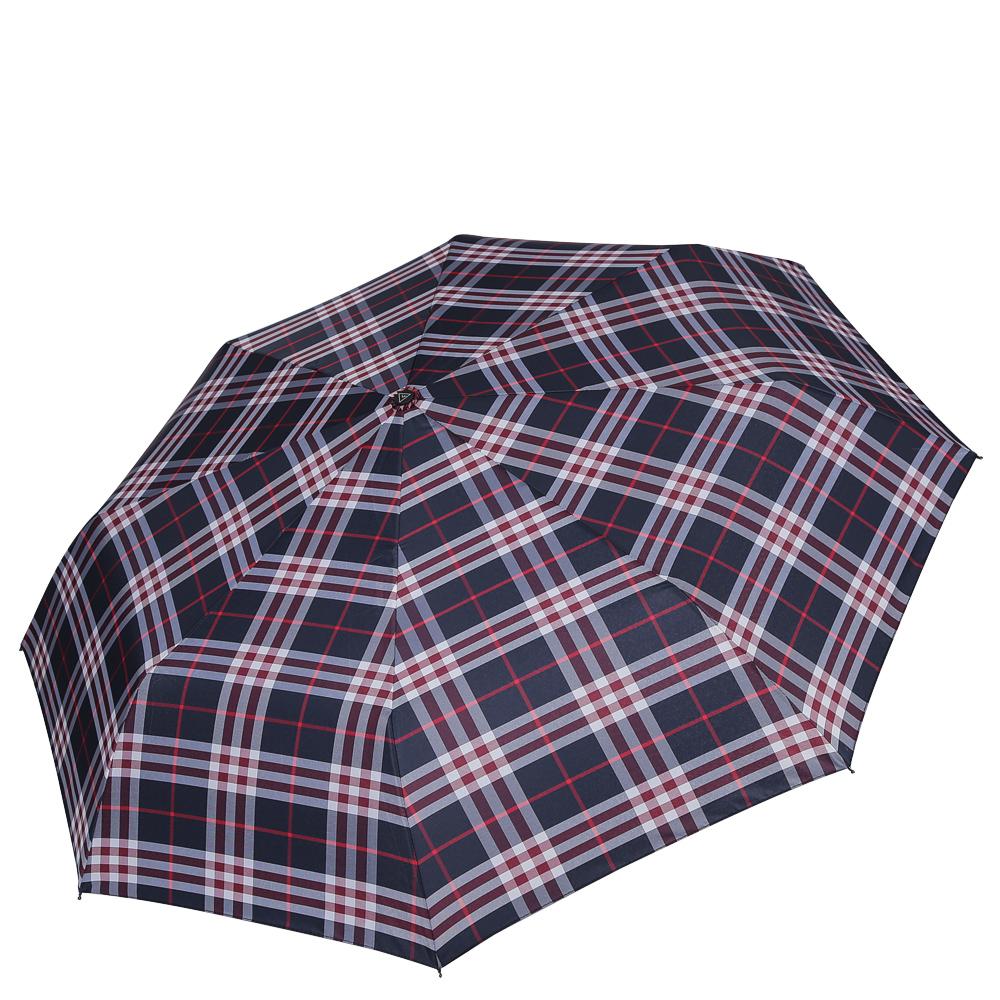 Зонт женский Fabretti, цвет: синий. FCH-945102176/33205/7900XКлассический зонт - полный автомат от итальянского бренда Fabretti. Материал купола - эпонж, обладает высокой прочностью и износостойкостью. Вода на куполе из такого материала скатывается каплями вниз, а не впитывается, на нем практически не видны следы изгибов. Эргономичная ручка сделана из высококачественного пластика-полиуретана с противоскользящей обработкой.