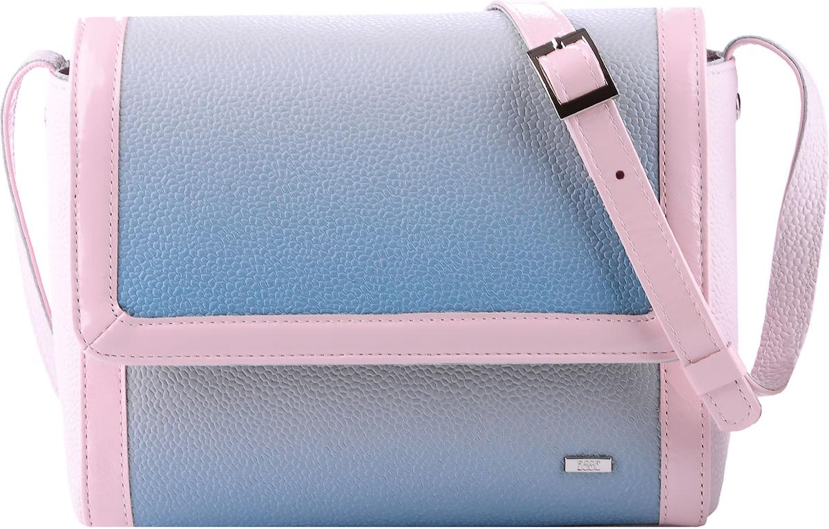 Сумка женская Esse Элизабет, цвет: розовый, мятныйBM8434-58AEМаленькая женская сумочка классической формы Esse Элизабет изготовлена из качественной натуральной кожи. Сумка состоит из одного отделения и закрывается намолнию и клапан с магнитной кнопкой. Внутри имеется одно отделение, в котором расположены карман для телефона и карман на молнии. Снаружи на задней стенке имеется врезной карман на молнии. Сумка оснащена плечевым ремнем регулируемой длины.