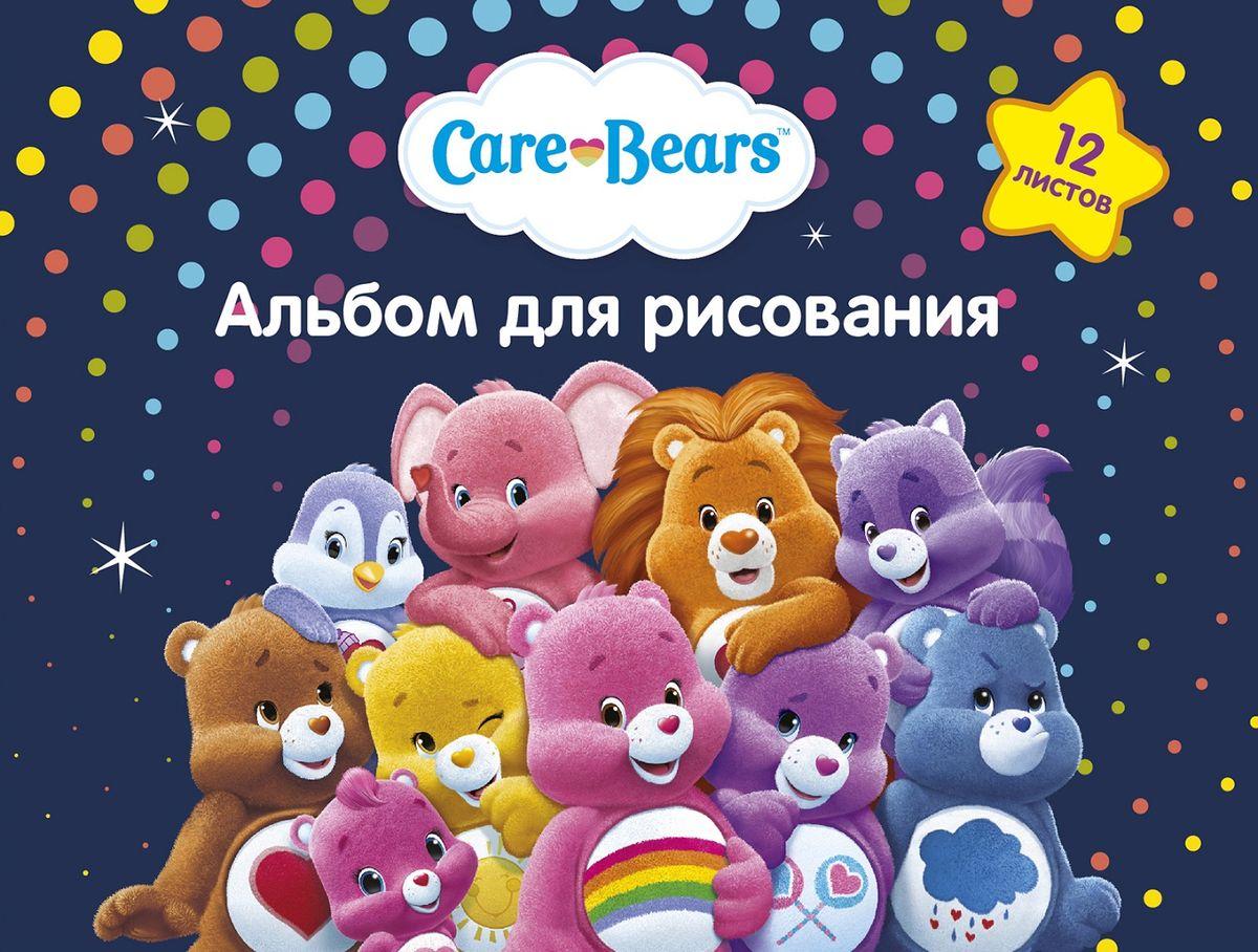Care Bears Альбом для рисования Заботливые мишки 12 листов72523WDАльбом Заботливые мишки формата А4 содержит 12 бумажных листов, которые, благодаря своей высокой плотности, идеально подходят для рисования акварелью, гуашью, карандашами и фломастерами. А обаятельные герои мультфильма, изображенные на обложке из импортного мелованного картона, призваны вдохновлять вашего маленького художника на новые шедевры детского творчества. Крепление - скрепка.