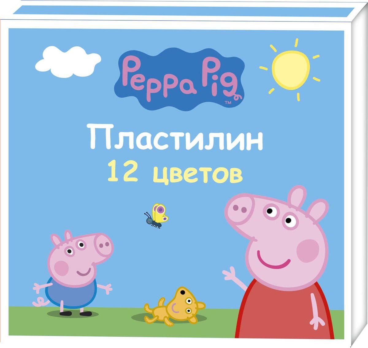 Peppa Pig Пластилин Свинка Пеппа 12 цветов32036Яркий и легко размягчающийся пластилин Свинка Пеппа поможет вашему малышу создать множество интересных поделок, а любимые герои мультфильма вдохновят его на новые творческие идеи. Лепить из этого пластилина легко и приятно: он обладает отличными пластичными свойствами, не липнет к рукам, не имеет запаха, его цвета легко смешиваются друг с другом. Создавайте новые цвета и оттенки, фантазируйте, экспериментируйте - это увлекательно и полезно: лепка активно тренирует у ребенка мелкую моторику и умение работать пальчиками, развивает тактильное восприятие формы, веса и фактуры, совершенствует воображение и пространственное мышление. В наборе Свинка Пеппа 12 ярких цветов пластилина по 15 г и пластиковая стека.Состав: парафин, петролатум, мел, каолин, красители.
