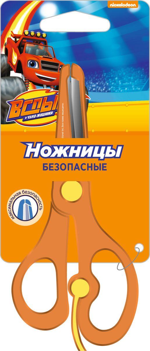Blaze Ножницы безопасные Вспыш32311Безопасные ножницы с усилителем ТМ Вспыш разработаны специально для самых первых уроков вырезания. Благодаря своему маленькому размеру и эргономичному корпусу, ножницы удобно располагаются в ладошке малыша, а усилитель заставляет ножницы раскрываться без нажима. Это помогает ребенку с легкостью учиться стричь и без труда создавать свои первые поделки. Лезвия изготовлены из высококачественной нержавеющей стали, имеют закругленные концы и покрыты пластиковыми накладками, что делает их безопасными для малышей.
