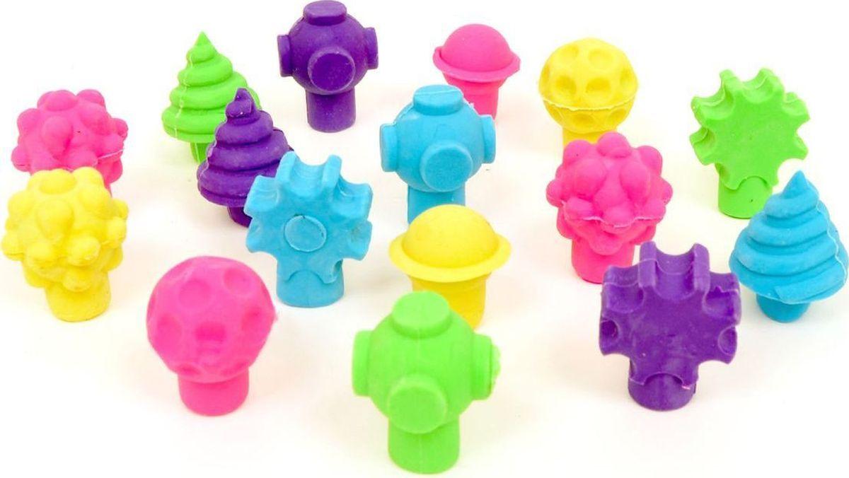 Micador Набор ластиков 15 штM045547Украсьте свои карандаши потрясающими ароматизированными и оригинальными 3D ластикам.