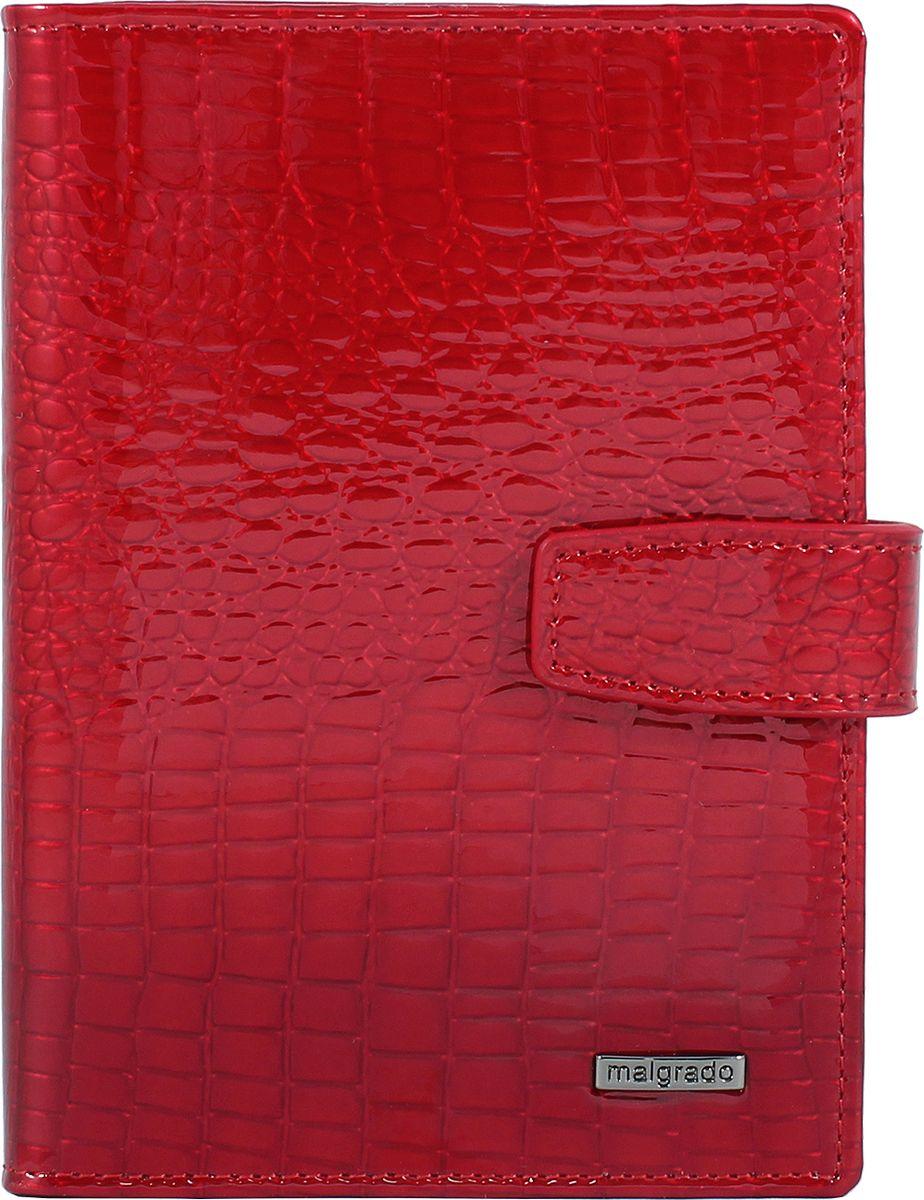 Обложка для документов женская Malgrado, цвет: красный. 54029-44A52_108Женская обложка для документов торговой марки Malgrado. Обложка имеет два разворота, в нее можно вставить 2 паспорта, либо паспорт и права. На первом развороте справа имеется 5 отделений для карточек. Во втором развороте вставлен прозрачный вкладыш для полного комплекта автодокументов, пять отделений для кредитных и дисконтных карт. Вкладыш можно вынимать и вставить во второй разворот второй паспорт.