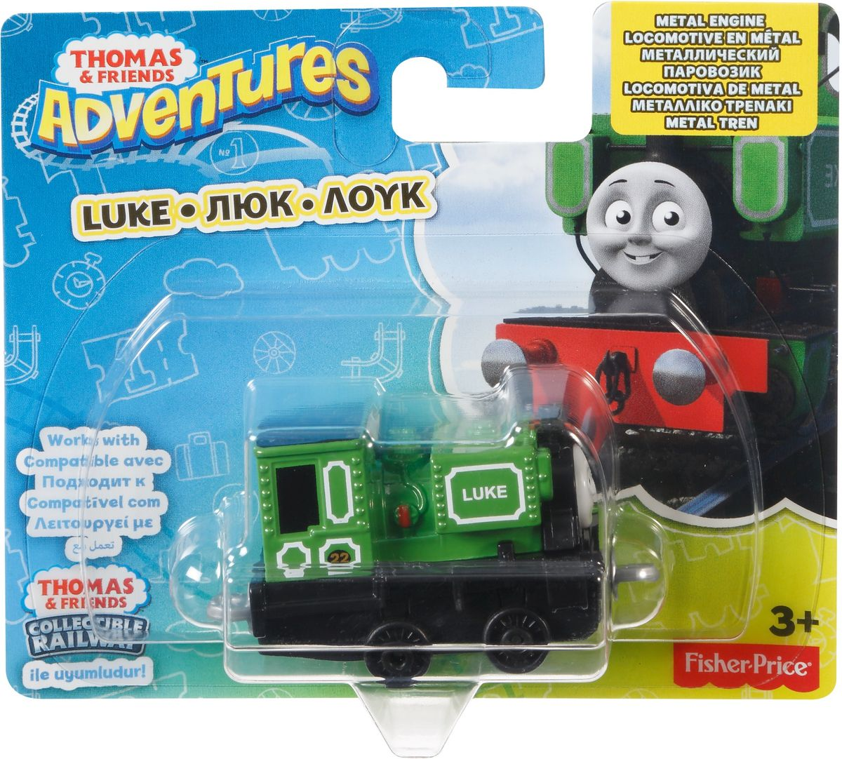 Thomas & Friends Паровозик Люк