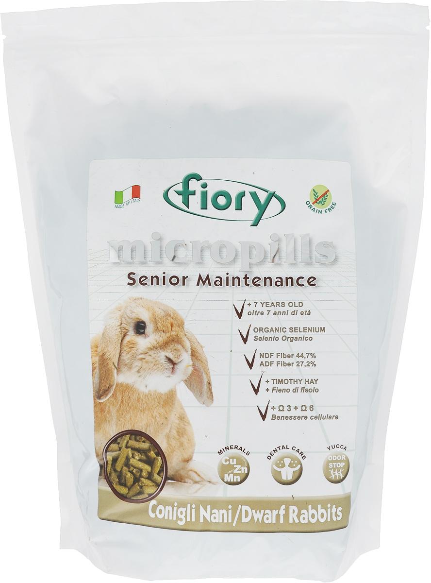 Корм сухой Fiory Micropills Dwarf Rabbits для карликовых кроликов старше 7 лет, 2 кг6357Корм сухой Fiory Micropills Dwarf Rabbits - это повседневный сбалансированный корм для декоративных кроликов старше 7 лет.Корм содержит сено третьего укоса с более низким энергетическим показателем, витамины и хелатные минералы, органический селен 2,2 мг/кг. Не содержит зерно. Кварц в составе позволяет стачивать зубы. NDF-клетчатка 44,7% и ADF-клетчатка 27,2% в составе корма - это полезная клетчатка, потребляемая кроликами в природе.Комплекс нутрицевтиков для правильного развития: дрожжи, инулин цикория, ФОС, продукты растительного происхождения, бета-глюканы, нуклеотиды, юкка Шидигера, масло огуречника (Омега-6) и жирные кислоты (Омега-3 DHA+EPA+DPA).Корм выполнен в виде гранул одинакового размера. Исключает пищевое селективное поведение. Упаковка с замком зип-лок надолго сохранит корм свежим. Товар сертифицирован.