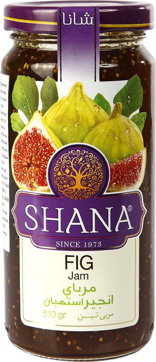 Shana джем из инжира, 310 г1093ДжемыShana- это не только душистое и вкусное лакомство, но и хороший способ сохранения витаминов лета. Джемыготовятся таким образом, чтобы ингредиенты сохраняли свою форму. Вы сможете полакомиться кусочками фруктов и соцветиями, и получите удовольствие от ощущения натуральности продукта. Сироп в джемахShana присутствует только в необходимом количестве, основную массу джемов составляют фрукты, ягоды и другие компоненты. Инжир содержит важную кислоту - триптофан, которая поддерживает нормальное функционирование мозга человека, помогает противостоять тревоге, сохранять спокойствие в стрессовых ситуациях. Джем из инжира является прекрасным профилактическим средством против гриппа, ОРЗ и даже более тяжелых респираторных заболеваний.
