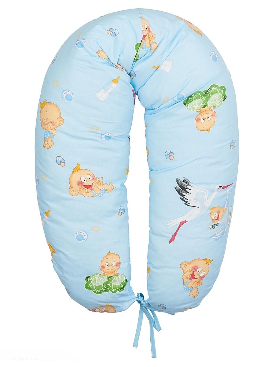 40 недель Подушка для кормящих и беременных цвет голубой 160 смБХС-160/Многофункциональная подушка с наполнителем из холлофайбера подходит для кормления и отдыха - обеспечивает комфорт мамы и малыша.В период беременности ее удобно использовать, подкладывая под живот или спину. Для уменьшения нагрузки на спину, плечи, руки и шею во время кормления расположите подушку вокруг талии. Для поддержания ребенка в различных положениях и зашиты его от падения, следует поместить малыша в центр подушки.Модель со съемным чехлом из хлопкового полотна.Размер 160 х 30 см.