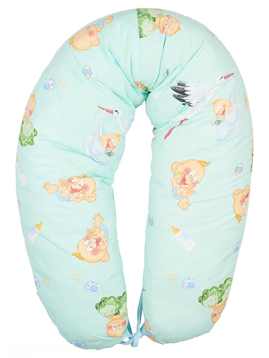 40 недель Подушка для кормящих и беременных цвет лазурный 160 см96281375Многофункциональная подушка с наполнителем из холлофайбера подходит для кормления и отдыха - обеспечивает комфорт мамы и малыша.В период беременности ее удобно использовать, подкладывая под живот или спину. Для уменьшения нагрузки на спину, плечи, руки и шею во время кормления расположите подушку вокруг талии. Для поддержания ребенка в различных положениях и зашиты его от падения, следует поместить малыша в центр подушки.Модель со съемным чехлом из хлопкового полотна.Размер 160 х 30 см.
