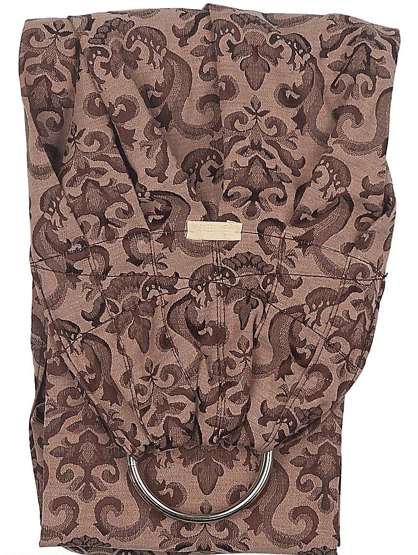 40 Недель Слинг с кольцами цвет коричневый 15001/24 - Рюкзаки, слинги, кенгуру