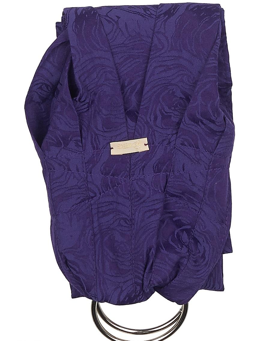 40 Недель Слинг с кольцами цвет фиолетовый 15001/12 фото слинг кенгуру