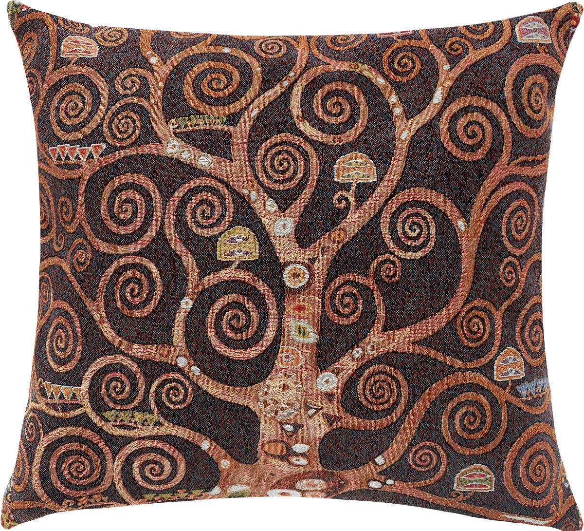 Подушка декоративная Рапира Древо, 45 х 50 смU210DFДекоративная подушка Рапира Древо изготовлена из 50% хлопка и 50% полиэфира. Изделие очень прочное и нежное на ощупь. Лицевая сторона подушки декорирована красочным гобеленовым рисунком, а оборотная сторона - однотонная ткань, похожая на плюш. Чехол подушки снабжен удобной молнией. Подушка Рапира Древо станет приятным дополнением к интерьеру любой комнаты.Размер подушки: 45 х 50 см.
