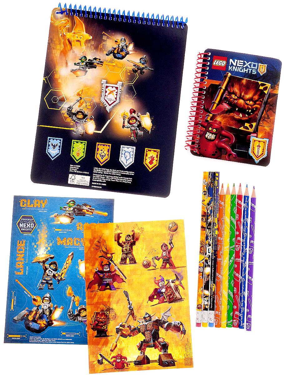 LEGO NEXO KNIGHTS Канцелярский набор 13 предметов 51559 -  Канцелярские наборы