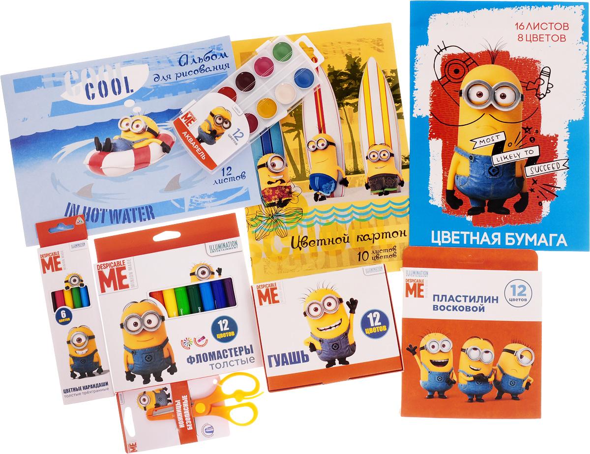 Universal Миньоны Набор для детского творчества Гадкий Я 9 предметов -  Канцелярские наборы