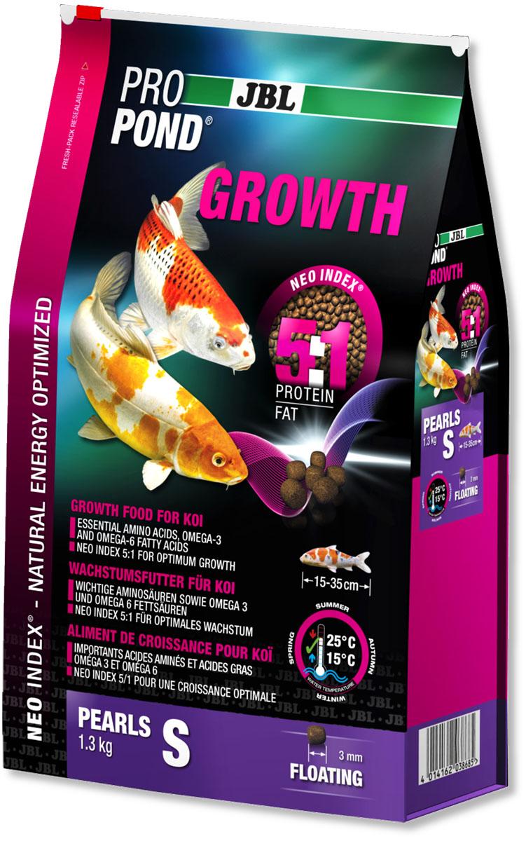 Корм JBL ProPond. Growth S для активного роста карпов кои небольшого размера, плавающие гранулы, 1,3 кг (3 л)JBL4129316Корм JBL ProPond. Growth S в виде плавающих гранул предназначен для активного роста карпов кои небольшого размера. Это основной корм с правильным соотношением белков и жиров 5:1 по индексу NEO Index, учитывающему температуру воды, функцию, размер и возраст рыб. NEO Индекс буквально означает: натуральное энергетически оптимизированное питание. Если рассматривать с точки зрения времени года, рыбы зимой должны получать вдвое меньше белков (2:1), чем летом (4:1). Однако учитываются не только время года и температура воды, но и размер, и возраст, а также функция корма (например, для роста - ProPond Growth). NEO Индекс сочетает в себе все эти нюансы. Корм содержит лосось, креветки, спирулину, рыбий жир для оптимального роста (при температуре воды 15-25°С). Размер корма S (3 мм) предназначен для рыб 15-35 см. Плавучие гранулы с 46% белка, 10% жира, 2% клетчатки и 10% золы. Корм в виде гранул для роста хранится в закрывающемся, воздухо-, водо- и светонепроницаемом пакете для лучшего качества. Товар сертифицирован.