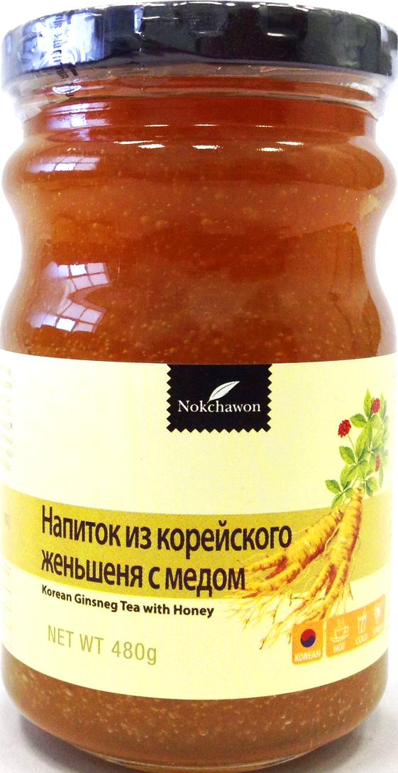 Nokchawon напиток из корейского женьшеня с медом, 480 г0120710Напиток восстанавливает силы и снимает усталость, повышает гемоглобин, улучшает кровообращение, снижает уровень холестерина в крови.