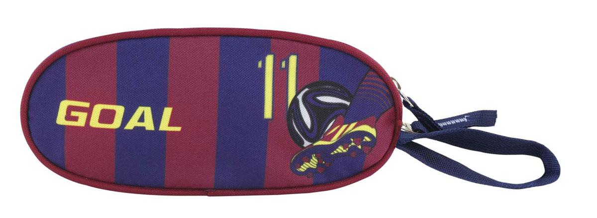Target Collection Пенал FC Barcelona Goal72523WDПенал Target Collection FC Barcelona. Goal станет не только практичным, но и стильным школьным аксессуаром.Пенал достаточно вместительный, имеет яркий дизайн. Закрывается на застежку-молнию.