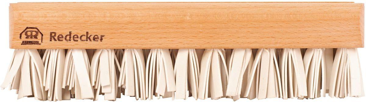 Щетка для ворсинок Redecker, большаяSS 4041Удобная и практичная щетка для сбора ворсинок. Выполнена из натурального дерева и резины, за счет чего отличается хорошей износостойкостью и эффективностью работы. Подходит для очистки одежды и мебели от шерсти животных. Длина щетки – 18.5 см.