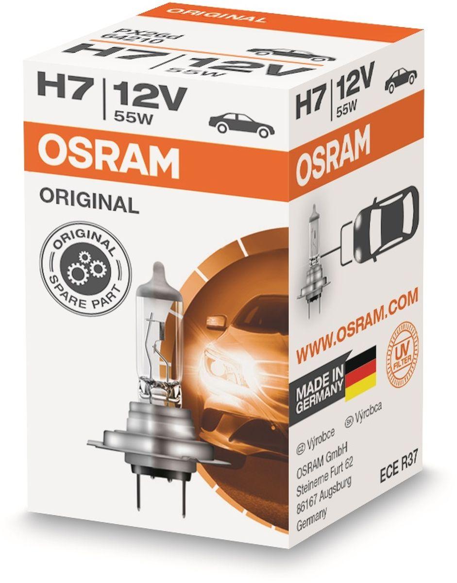 Лампа автомобильная галогенная Osram Original Line, для фар, цоколь PX26d, 12V, 58Вт10503Лампы OSRAM ORIGINAL LINE - это безупречные рабочие характеристики, отвечающие всем стандартам автомобильного освещения, надежность и экономия.