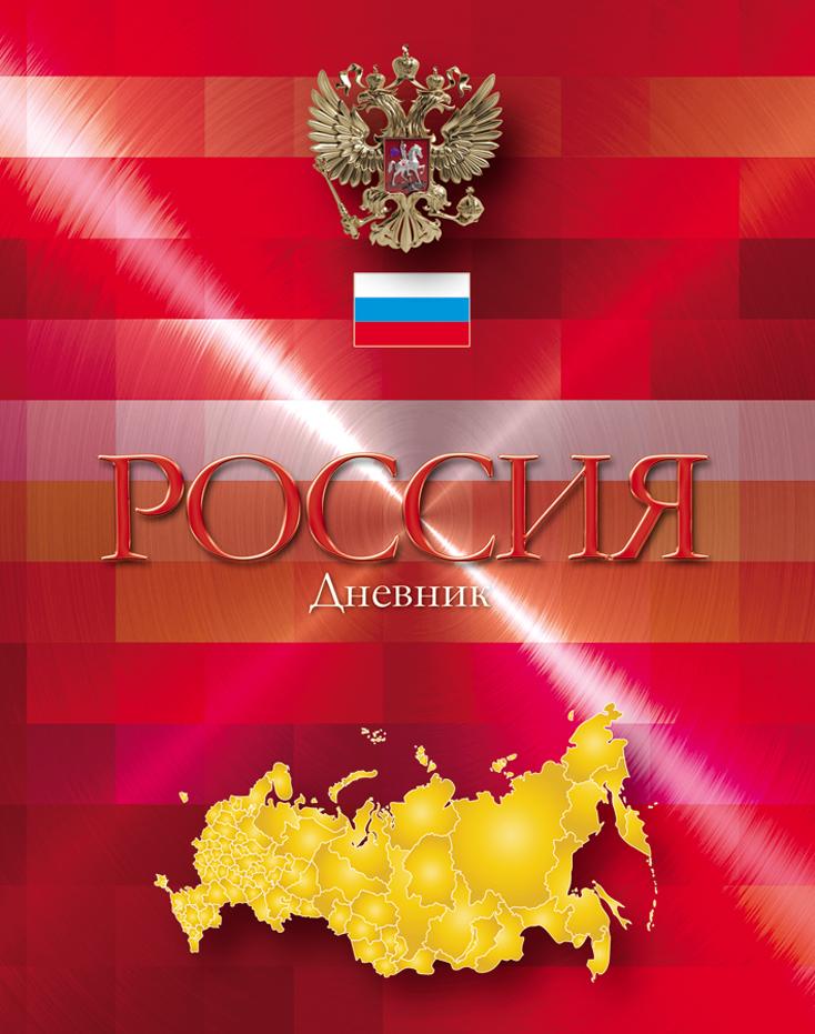 Апплика Дневник школьный Российская символика-18