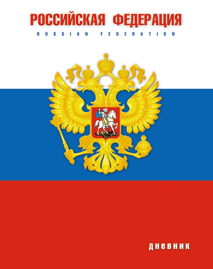 Апплика Дневник школьный Российская символика-19