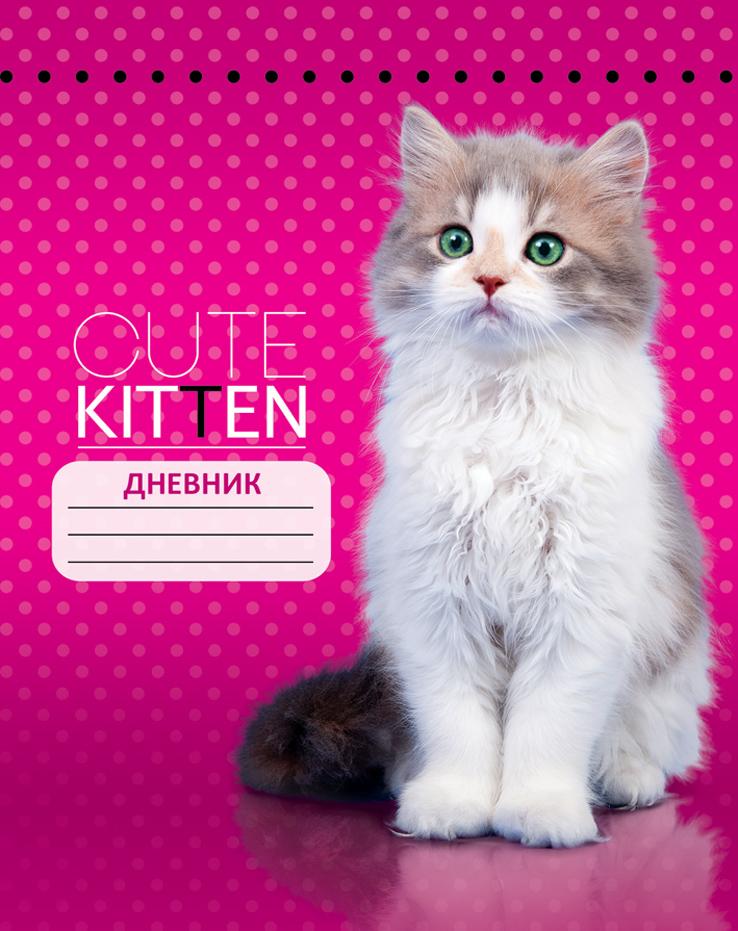Апплика Дневник школьный Кошка
