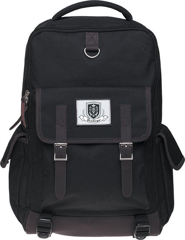Berlingo Рюкзак Sport College-372523WDРюкзак Berlingo Sport. College-3 - это невероятно привлекательный аксессуар.Серия Sport - включает в себя стильные рюкзаки для старшеклассников и студентов, а также классические рюкзаки для людей, ведущих активный образ жизни. Рюкзак изготовлен из высокопрочного полиэстера, имеет одно основное отделение на молнии и 3 внешних кармана на липучке. Уплотненная спинка и широкие лямки делают этот рюкзак надежным и удобным.