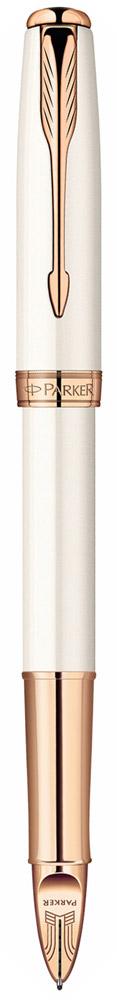 Parker Ручка шариковая 5th mode Sonnet Femini Pearl Lacquer PGTPARKER-S0975990Марка Parker гарантирует полную уверенность в превосходном качестве товара. Шариковая ручка Parker 5th mode Sonnet Femini Pearl Lacquer PGT выполненная с имитаицией пера, будет не только долго служить, но и неизменно радовать удобством и легкостью письма, надежностью в эксплуатации и прекрасным эстетическим исполнением. Шариковая ручка Parker 5th mode Sonnet Femini Pearl Lacquer PGT изготовлена из перламутрового лакового корпуса с позолоченными декоративными элементами. Цвет чернил - черный. Ручка аккуратно упакована вфутляр.