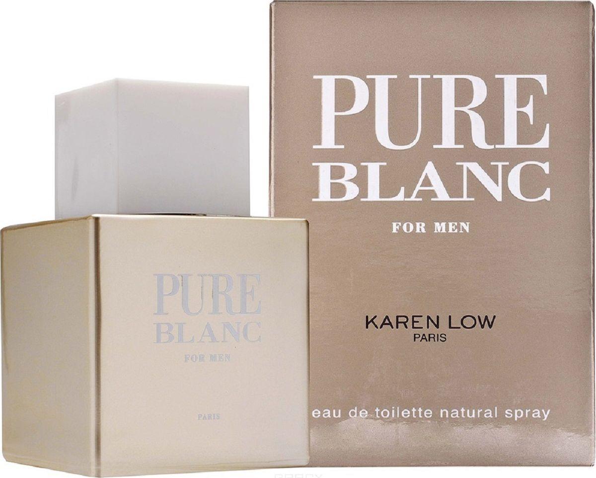Geparlys Туалетная вода Pure Blanc men Линии Karen Low, 100 мл28032022Олицетворение классического стиля в сочетании с авангардизмом, делает его обладателя изысканным и элегантным. Основная парфюмерная композиция: листья фиалки, серая амбра, замша, кардамон, пачули.